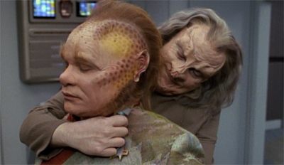 Well, that's one way of shutting up Neelix...