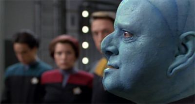 He's going to argue with Tuvok until he's blue in the face...