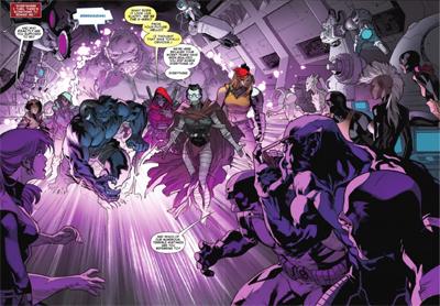 Dazed by X-Men past...