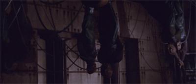 Just hangin'...