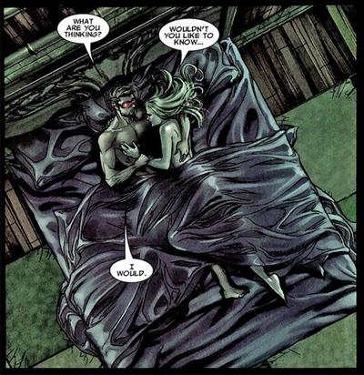 Strange bed fellows...