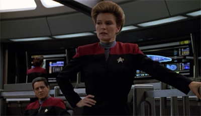 Make way for Janeway...