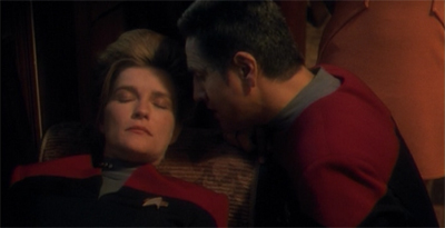 Chakotay, now might not be the best time...