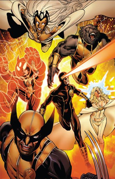 To him, his X-Men!