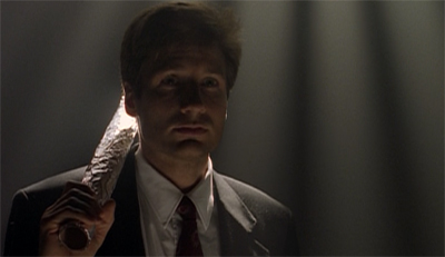 Mulder's lighter side...