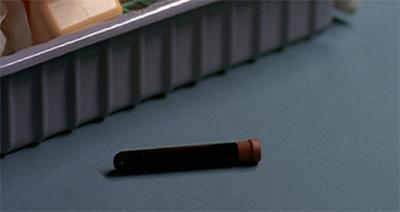 A vital vial...