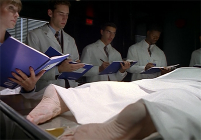 Studying Scully's body of work...
