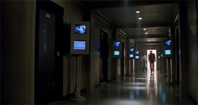 The corridors of power...