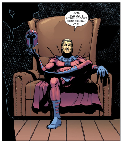 I do love that the Blob's chair is comically oversized...
