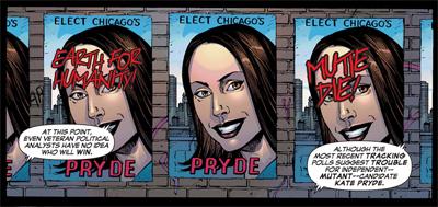 A matter of Pryde...