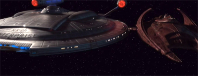Joined at the docking port...