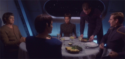 Guess who's coming to dinner... again...