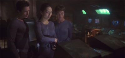 """""""Sulu didn't have any trouble figuring this out, and he didn't even speak Klingon!"""""""