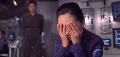 "This week on Star Trek: Enterprise, T'Pol stubbornly refuses to get into the spirit of ""hide and seek."""