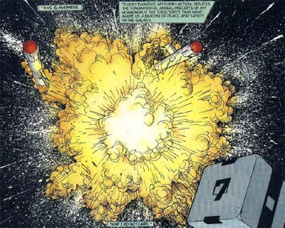 Explosive action...