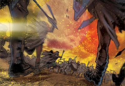 War of the supermen...