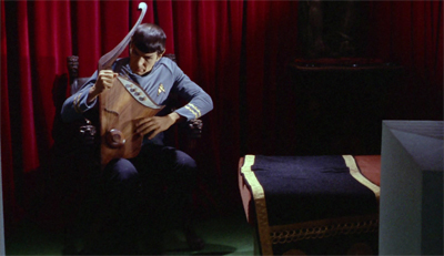 For a private fellow, Spock can't help harping on...