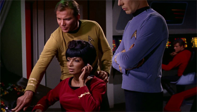 Wow, Shatner's right. Kirk can do anything in this show...