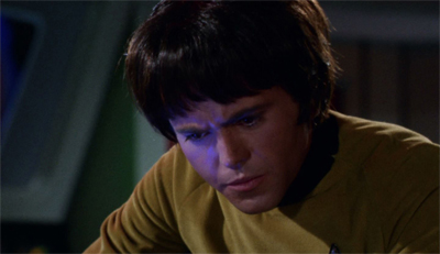 Chekov is wigging out...