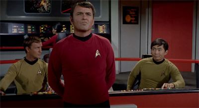 "Scotty might be letting that whole ""Captain"" thing go to his head..."