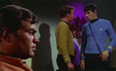 """No, Spock! I am not asking him for an autograph!"""
