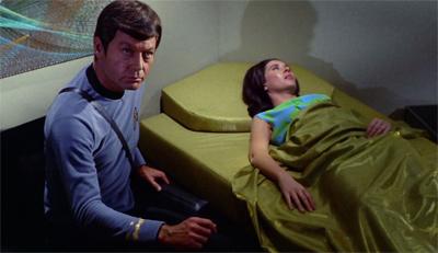 She's almost dead, Jim!