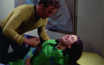 Kirk just has that effect on women...