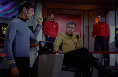 """Eh... you're still easier to work with than Shatner..."""