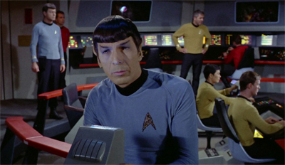 """I have been informed that Moby Dick has been added to the Starfleet Academy reading list..."""
