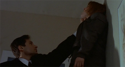 Sadly, this feels an accurate depiction of Mulder and Scully's relationship in the second season...
