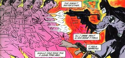 Batman is gunning for crime...