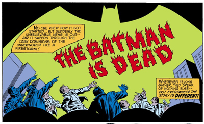 Long live the Batman!