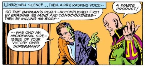 Batman iz a wimp, LOL!
