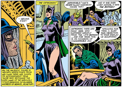Curse of the Catwoman...
