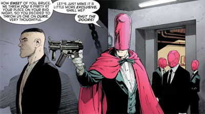 A hooded foe...