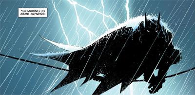 Bat on a wire...