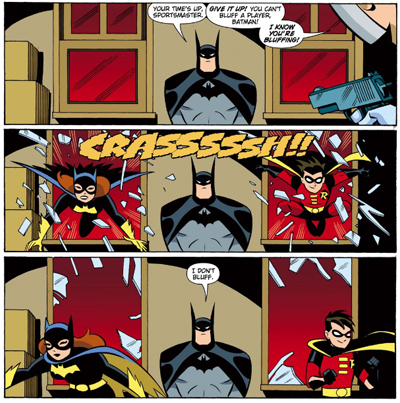 Batman. In a nutshell.