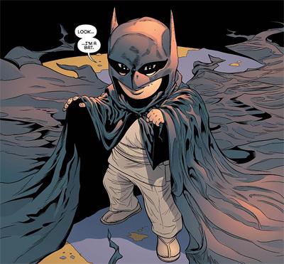 He shall become a bat...