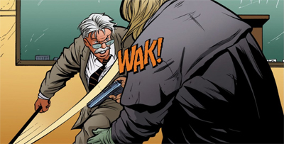 Nobody messes with Jim Gordon...