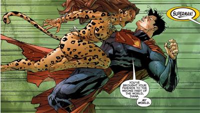 """""""Hold on! Bruce here loves Cat-women!"""""""