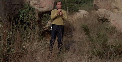 Star Trek in the wilderness...