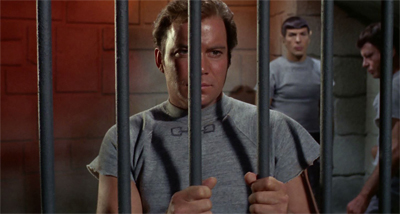 Kirk is beginning to feel a little caged in...