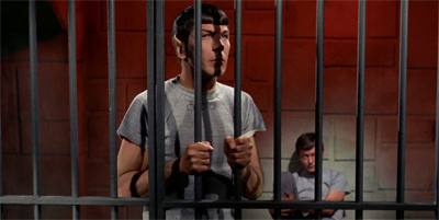 A caged Vulcan doesn't sing...