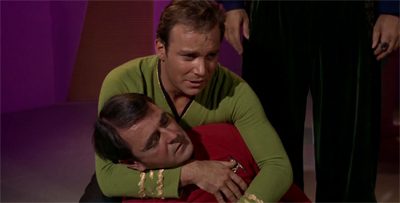 """We really have to stop beaming Scotty down as the only team member in a red shirt..."""