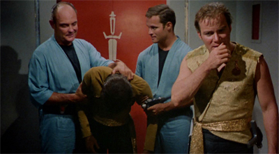 ... And that was the last time Koenig tried to upstage Shatner...