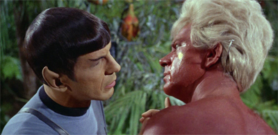 Spock's really not the one to cast judgement about strange aural quirks...