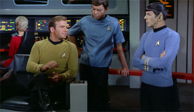 """""""Tell Uhura not to worry, we've got an anonymous extra filling in for her..."""""""