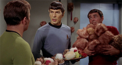 The tribbles just keep piling up...