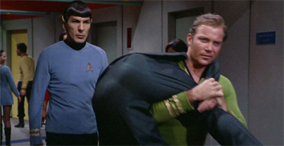 Just another day on the USS Enterprise...