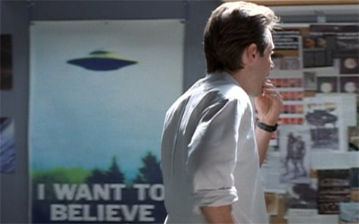 I hate to think how Mulder would react to the Lost finale...